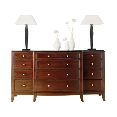 Cresent Furniture Moderne 12 Drawer Dresser