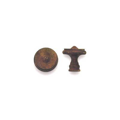 Bosetti-Marella Classic Iron Knob in Antique Rust