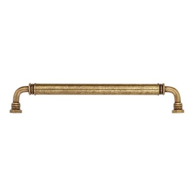 "Bosetti-Marella Oversized Handle 12"" Smooth Brass Appliance Handle Pull in Dark Antique Brass"