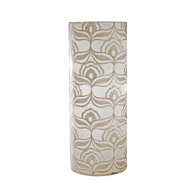 Tay Lighting Jasmine Tube Lamp in White