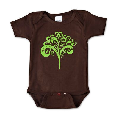 Redsnapper Tree of Life Chocolate Bodysuit