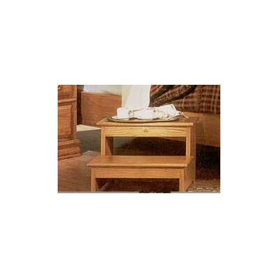 Bebe Furniture Country Heirloom 2-Step Step Stool