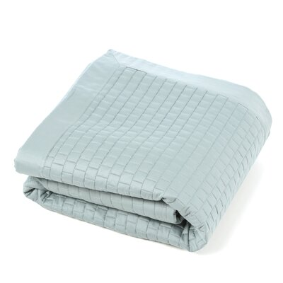Caravelle Windowpane Quilted Coverlet
