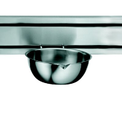 "Franke Rail System 8.5"" Kitchen Bowl in Stainless Steel"