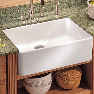 "Belle Foret 21.25"" x 15.75"" Apron Front Kitchen Sink 