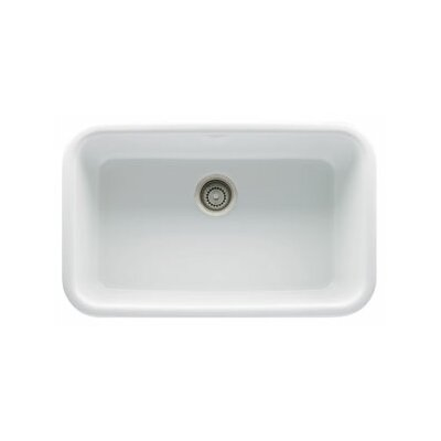 "Franke Oceania 30.5"" x 19"" Fireclay Under Mount Kitchen Sink"