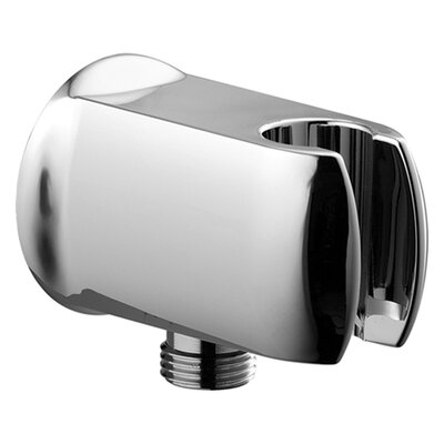 Hansa Wall Supply Elbow with Hand Shower Holder