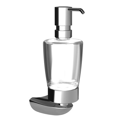 Hansa HansaMotion Wall Mounted Liquid Soap Dispenser in Chrome