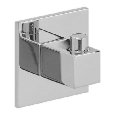 Hansa HansaQuadris Towel / Robe Hook in Chrome