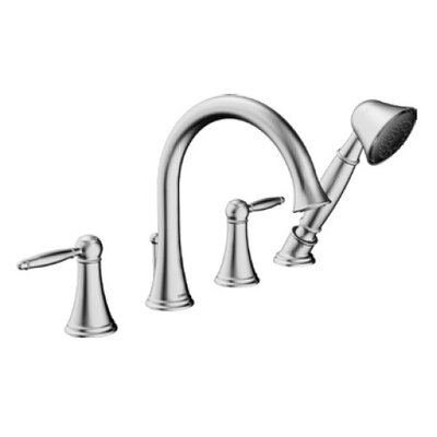 Hansa HansaClassic Double Handle Deck Mount Roman Tub Faucet Trim