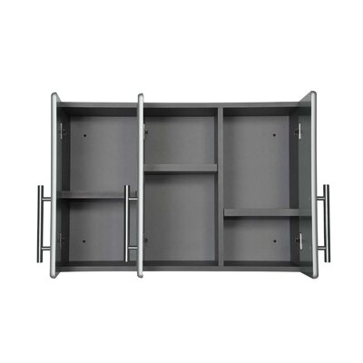 Ulti-MATE 3-Door Partitioned Wall Cabinet