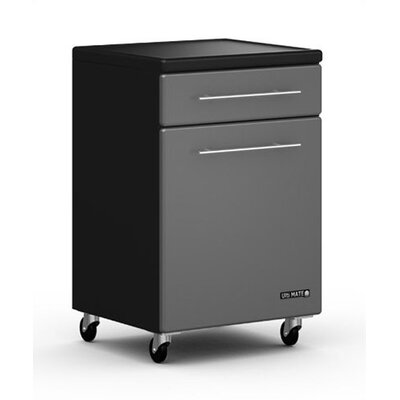 "Ulti-MATE Garage One Drawer and One Door Rolling/Locking 22"" Base Cabinet w/Adjustable Shelf"