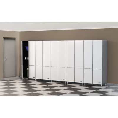 Ulti-MATE Storage 5-Piece 2-Door Tall Cabinet Kit in Starfire Pearl