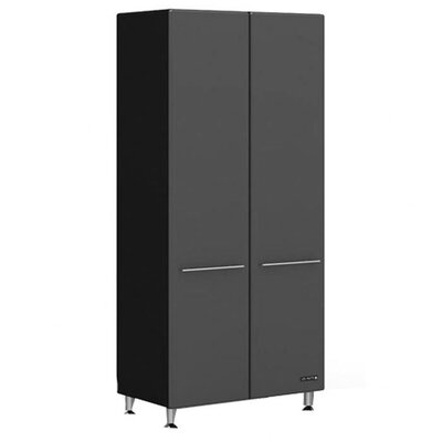 "Ulti-MATE Garage Two Door large 80"" Tall Cabinet w/Three Shelves"