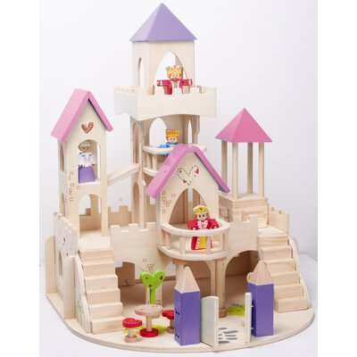 Maxim Enterprise Inc. Fairy Tale Castle and Figure Set
