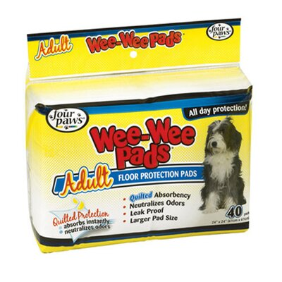 Four Paws Wee-Wee Pads for Adult Dogs