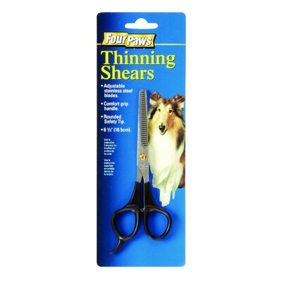 "Four Paws 6.5"" Thinning Shears Pet Grooming"