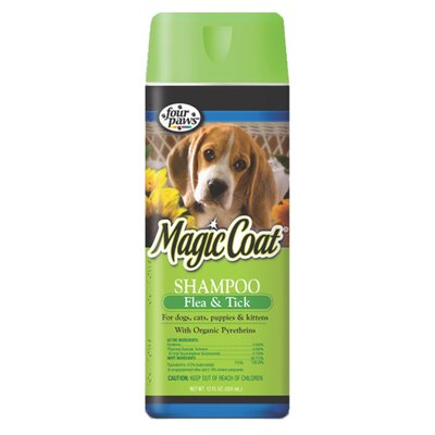 Four Paws 16 oz. Dog Magic Flea and Tick Shampoo