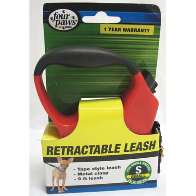 Four Paws Dog Retractable Tape Leash