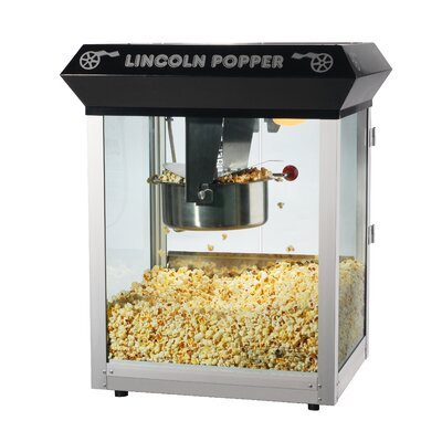 Great Northern Popcorn 8 oz Lincoln Antique Popcorn Machine