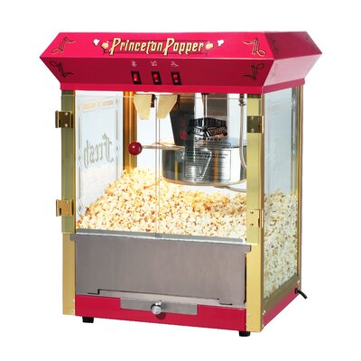 Great Northern Popcorn Princeton 8 Ounce Bar Style Antique Popcorn Machine