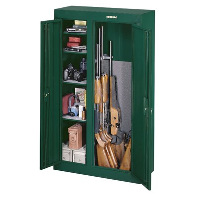 Stack-On Double Door Security Cabinet (10 Gun Capacity)