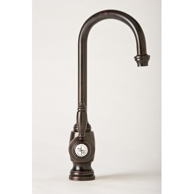 Waterstone Hampton One Handle Single Hole Bar Faucet with Built-In Diverter and Lever Handle