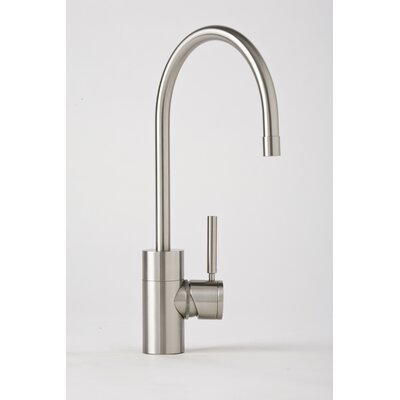 Waterstone Parche One Handle Single Hole Kitchen Faucet with Built-In Diverter and Lever Handle