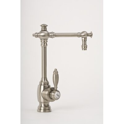 Towson One Handle Single Hole Bar Faucet with Built-In Diverter and Lever Handle