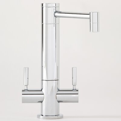 Hunley Two Handle Single Hole Hot and Cold Water Filtration Faucet with Lever Handle