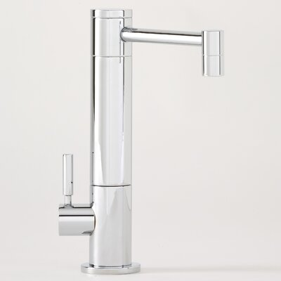 Waterstone Hunley One Handle Single Hole Hot Water Filtration Faucet with Lever Handle