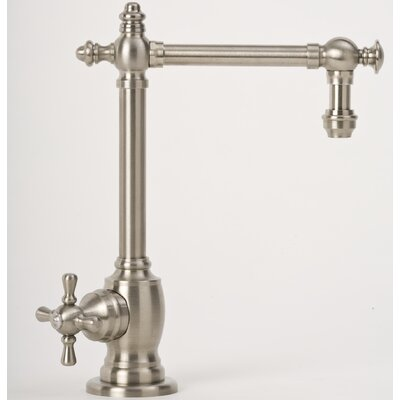 Towson One Handle Single Hole Hot Water Filtration Faucet with Cross Handle
