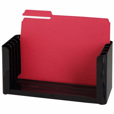 "Sparco Products Folder Holder, 5 Compartment, 12-1/2-15-3/4""x5-1/2""x6-1/8"", EY"