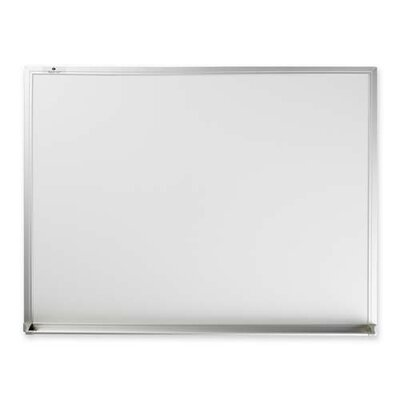 Sparco Products Marker Board, Aluminum Frame, White, Various Sizes