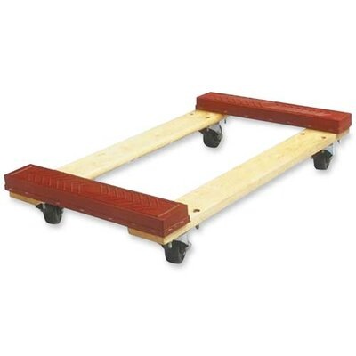 "Sparco Products Cross member Dolly, 18""x30""x5-3/4"", 1000 lb Capacity, Red"