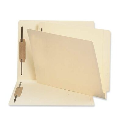 Sparco Products Fastener Folder, w/ 2-Ply Tab, Pos 1 and 3, Letter, 50/BX, MA