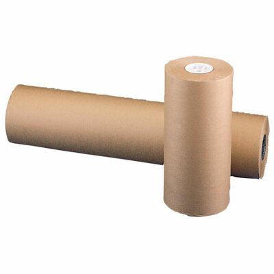 "Sparco Products Bulk Wrapping Paper, 50 lb., 36""x800', 8-1/2"", Kraft"