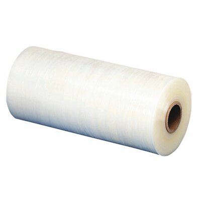 "Sparco Products Stretch Wrap Film, 18""x1500' Roll, Heavyweight, Clear"