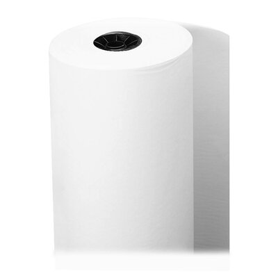 "Sparco Products Art Paper Roll, 50lb, 36""x1000', White"