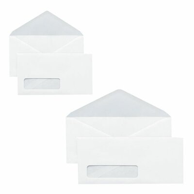 "Sparco Products Envelopes, Window, No 6-3/4, 3-5/8""x6-1/2"", 500/BX, White"