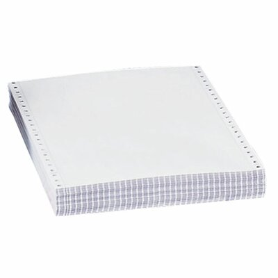 "Sparco Products Computer Paper, Plain, Crbnls, 4 Parts, 15 lb., 9-1/2""x11"""