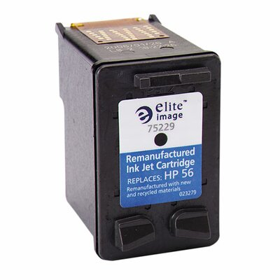 Elite Image Inkjet Printer Cartridge, 450 Page Yield, Black Ink