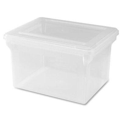 Lorell Legal / Letter Plastic File Box