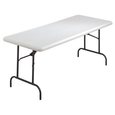"Lorell Ultra-Lite Folding Tables, 72""x30""x29"", 600 lb Capacity"