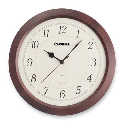 Wall Clock, Arabic Numerals, 13-1/2