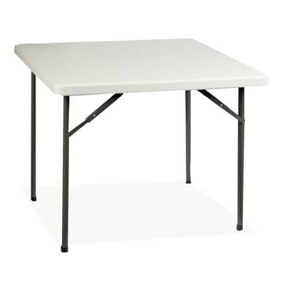 "Lorell 36"" Square Folding Table"
