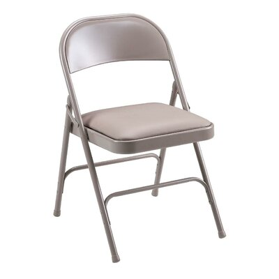 Lorell Folding Chair with Back