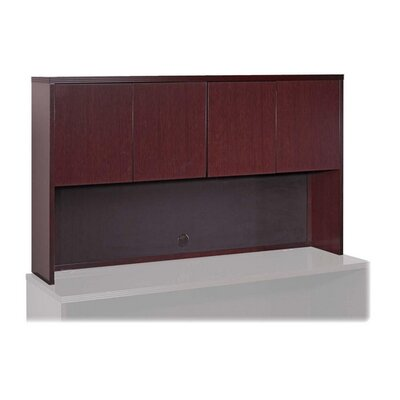 Lorell Lorell 88000 Fluted Edge Veneer Furniture , Mahogany