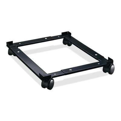 Lorell File Caddy, Adjustable, 11-3/8&quot;x16-5/8&quot;x4&quot;, Black