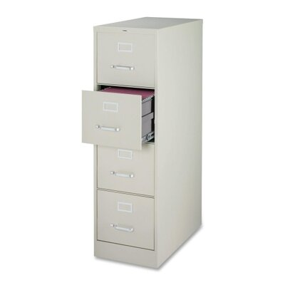 Lorell 4 Drawer Commercial-grade Vertical File